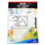 papel block  Mantequilla  Artisan Transparente Octavo 35 Hojas 41 Gramos
