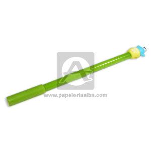 lapicero bolígrafo En gel con Muñeco de Goma, Madcolor amarillo Tinta Negra masculino 0.7mm Punta fina Punta Metálica