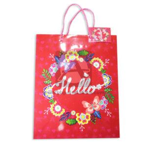 Bolsa de Regalo Estampada de Flores, Hello de cordón Sujetador Primavera Multicolor Grande L femenino
