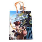 Bolsa de Regalo  Estampada personajes Toy Story el vaquero Woody en The Great Train Rescue  cin Cordón  Sujetador  Primavera Multicolor M Mediana  Niño