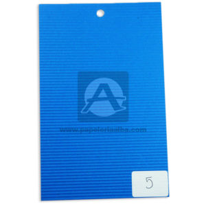 papel Cartón Microcorrugado lamina Nirvana azul medio pliego 70x50cm