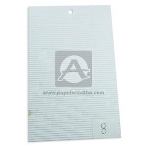 papel Cartón Microcorrugado lamina Nirvana Blanca medio pliego 70x50cm