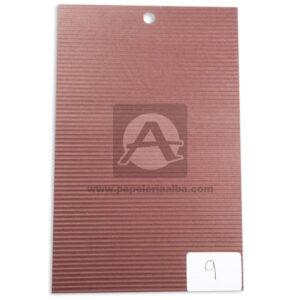 papel Cartón Microcorrugado lamina Nirvana cafe medio pliego 70x50cm