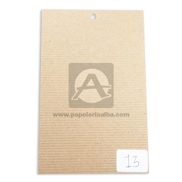 papel Cartón Microcorrugado lamina Nirvana Kraft medio pliego 70x50cm