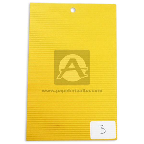 papel Cartón Microcorrugado lamina Nirvana Naranja medio pliego 70x50cm