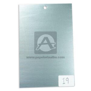 papel Cartón Microcorrugado lamina Nirvana plateado medio pliego 70x50cm