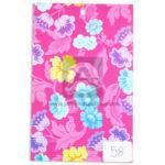 papel Cartón  Microcorrugado Estampado Flores lamina   Nirvana Multicolor medio pliego 70x50cm