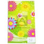 papel Cartón  Microcorrugado Estampado Floristería  lamina   Nirvana Multicolor medio pliego 70x50cm