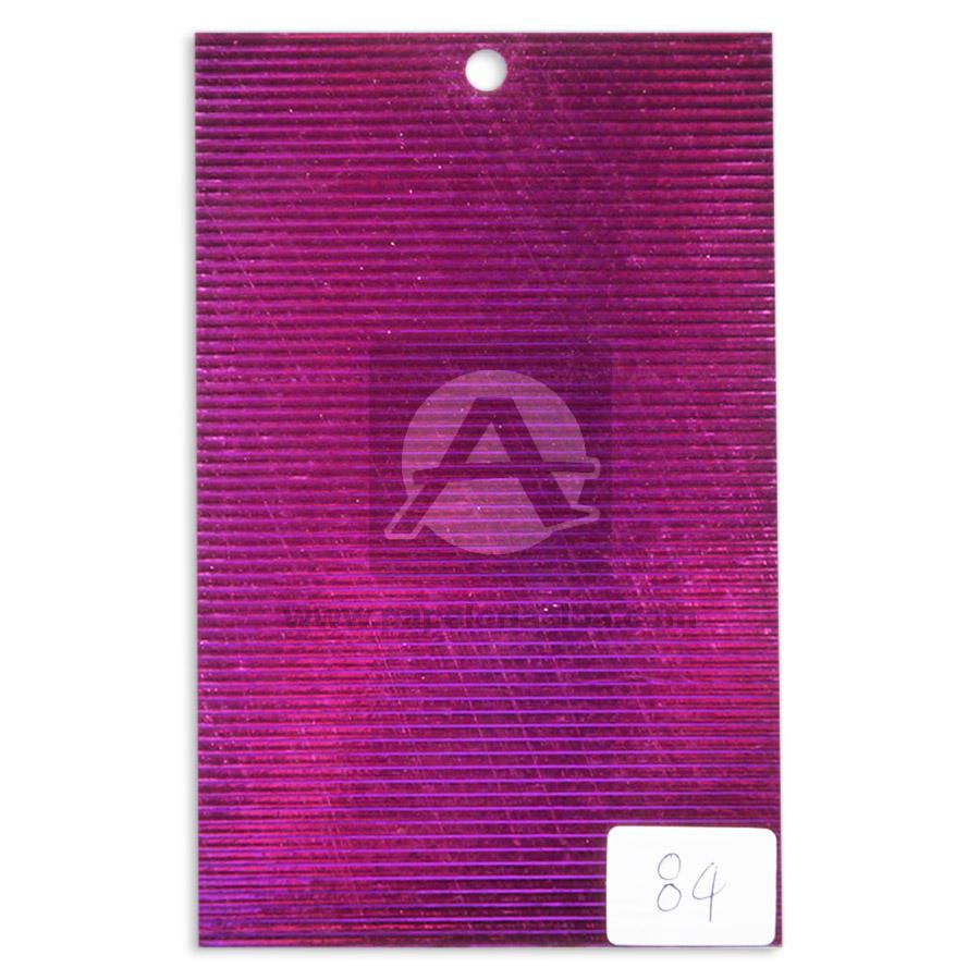 papel Cartón  Lamina Microcorrugado   Nirvana Fucsia Metalizado medio pliego 70x50cm