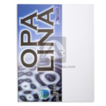 Cartulina  Opalina Láser color  Icopel blanco Carta 180 gramos 20 unidades