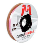 cinta decorativa  Económica Metalizada  Mega Rosado 04 x 50 Yardas 45 Mts Rollo Delgada