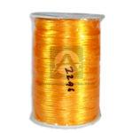 Cordón  Seda El Botón amarillo 130 metros Rollo