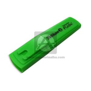 Marcador Resaltador Textmarker Flash verde pelikan