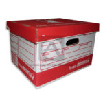 caja de archivo  Inactivo con tapa  Legis Grande Cartón 26 cm Alto 31 cm Profundo 40 cm Largo