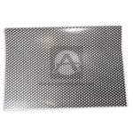 papel  Estampado círculos Polka   Gomezul papel propalcote blanco Negro medio pliego