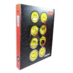 pasta carpeta  Colors 105 impresa Emojis samilefaces  amarillo Negro Carta unisex