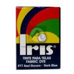 tinta para ropa  Fabric Dye #17 Iris Azul Oscuro Tinte para Tela Caja 15 gramos