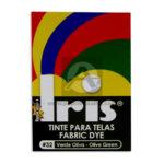 tinta para ropa  Fabric Dye #32 Iris Verde Oliva Tinte para Tela Caja 15 gramos