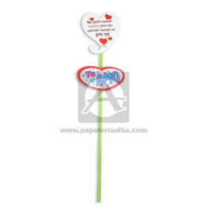 accesorio de decoración Pin Hablador forma de corazón con mensaje de amor Fiesta Multicolor Grande femenino Cartón