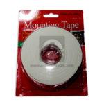 cinta  Doble faz Mounting Tape Geoz 3,6cmx5y enmascarar Gruesa blanco