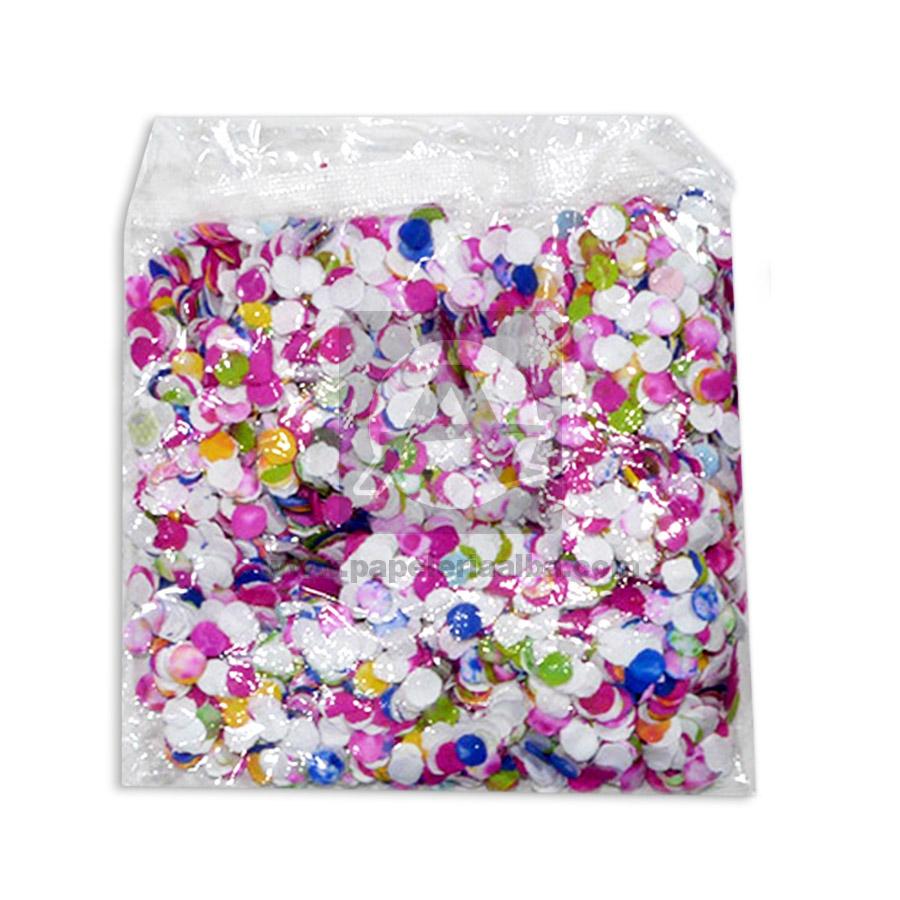 Confetti  Círculos de papel  Gomez y Gomez Bolsa Multicolor