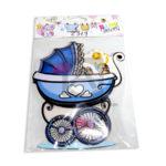 accesorio de decoración  Para Pared coche de bebe  El Puntazo Multicolor Grande unisex Plástico