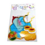 accesorio de decoración  Para Pared Elementos de bebe  Cuantias Multicolor Grande unisex Plástico