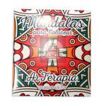 libro   Mandalas para Colorear 1 Arterapia + colores ecológicos  Tintas y Trazos Grande 24 unidades