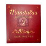 libro   Mandalas para Colorear 2 Arterapia + colores ecológicos  Tintas y Trazos Grande 24 unidades