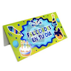 Lluvia de Sobres Para celebración Primavera Multicolor unisex - papeleria alba