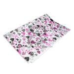 papel  Arte textura estampado de corazones  Gomezul Multicolor medio pliego 50x70cms