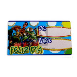 tarjeta para regalos toy story Mayorga 1 unidad unisex Pequeño