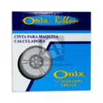 cinta para calculadora  onix N°8318 El Papelero Caja Pequeña 1 unidad