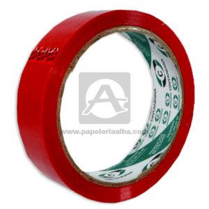 cinta multiuso Linea 6000 Calidad Rillón Cintandina Rojo Polipropileno 24mm x 40m