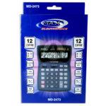 Calculadora  Electronics MD-2473 Mark 12 Dígitos Gris Grande