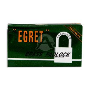 candado egret #30 Brass Padlock Harder Original Variedades Quintero Mediano Metálico Caja