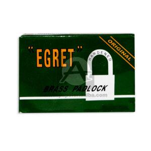 candado egret #50 Brass Padlock Harder Variedades Quintero Grande Metálico Caja