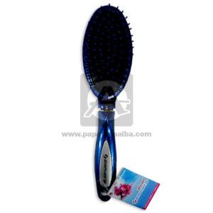 cepillo para cabello Cojín ovalado Zafhir's Azul Oscuro unisex Grande