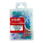 chinche  chinchon te organiza la vida Triton Cristal Surtido 40 Unidades