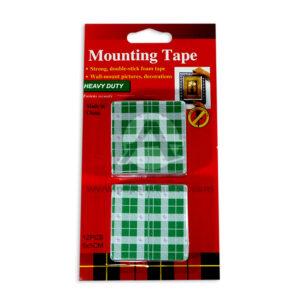 cinta doble faz mounting tape Distriexito 5cm x 5cm Verde Claro 12 unidades