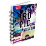 cuaderno argollado  Mini/Anotaciones Tropic Norma cuadriculado 80 hojas femenino