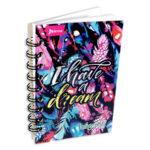 cuaderno argollado  Mini/Anotaciones I Have a Dream Norma cuadriculado 80 hojas femenino