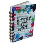 cuaderno argollado  Mini/Anotaciones Young and Wild Norma cuadriculado 80 hojas femenino