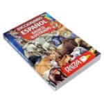 diccionario  español básico ilustrado Rapsa papel periódico Mediano unisex