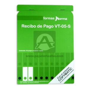 facturero forma VT-05-S Norma 50 hojas Mediano