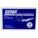 Grapa   A11-10 Gema Alambre fino 5000 Grapas Punta Divergente 3/8