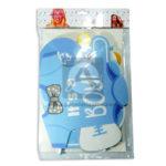 accesorio de decoración  pines para fotos baby shower Fival Azul Cielo Niño