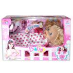 Muñeca   Sleeping Baby con Sonido  Cuantias +3 Años  Niña  Grande