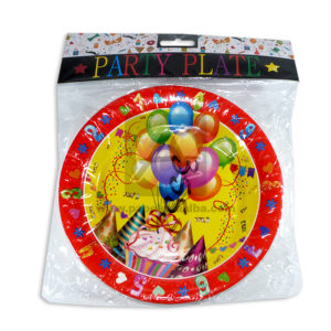 plato decorado party plate cumpleaños Bestwell Fareast Multicolor unisex Mediano
