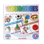 rompecabeza juego didáctico  Asociaciones para crear jugando AA-6050 Cuantias Mediano + 4 Años unisex Multicolor 1-4 Jugadores 12 unidades